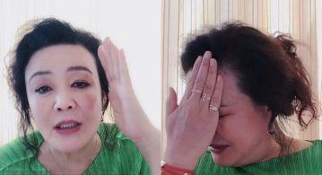 大S婆婆被判刑1年 開直播向大S夫婦道歉 又怒嗆網友:我等你抓!