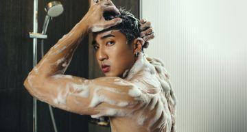 婁峻碩首度脫了「裸肌入鏡」 小賴超嗨留言:想要跟他一起洗澡!