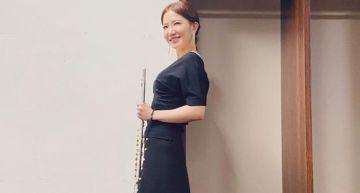謝忻宣布「重返教職」!國家音樂廳演奏長笛:是音樂豐富了我