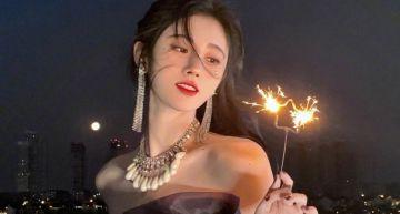 居家清涼照曝光!中國第一美女「肩帶滑落」 網:太害羞