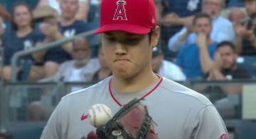 MLB/生涯最慘一役!大谷翔平對洋基大爆炸 0.2局狂失7分退場