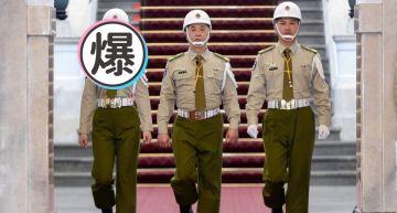 女神憲兵!泱泱站哨「渾圓胸形撐爆制服」 網:雄偉!