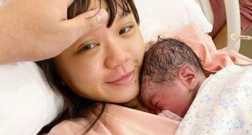 生了!彥婷生產20小時「噴淚想放棄」:謝謝來當我們的寶貝