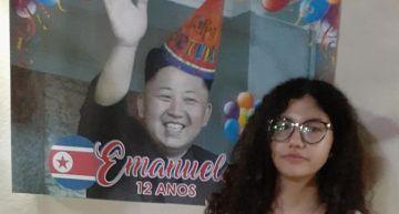 為幫超「哈韓」愛女慶生  巴西爸爸做出「金正恩」生日蛋糕  網笑:有深仇大恨?