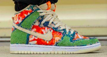 直接用大麻品種命名!Nike SB Dunk High「Maui Wowie」釋出,雙層鞋面充分發揮「草」的力量!