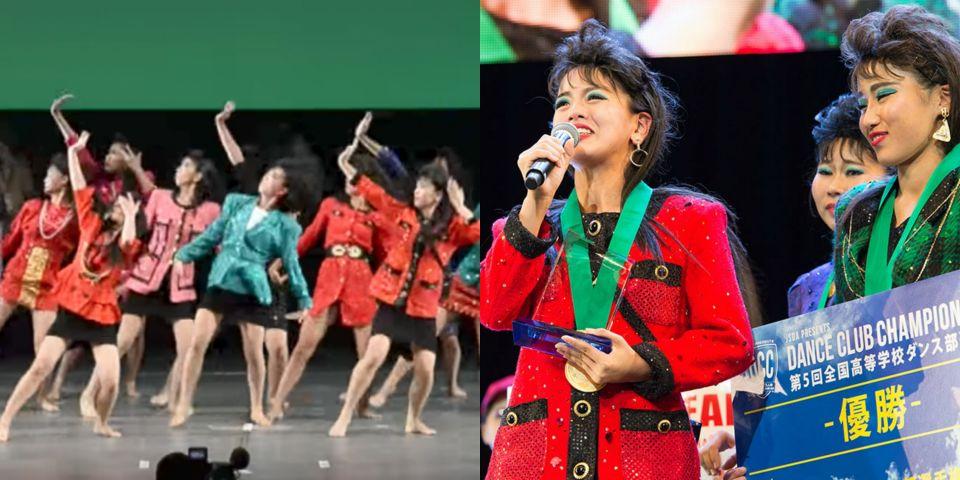 日高校女集體穿越!?「半屏山舞廳風」神還原90年代風格,複製人的舞步嚇傻百萬人