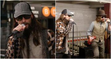大明星就在你身邊!「魔力紅」亞當李維假扮大叔突擊紐約地鐵 獻唱〈Sugar〉引爆民眾圍觀!