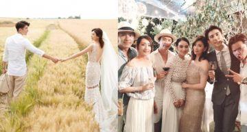 賈修峇里島浪漫婚禮!「明星夫妻檔」穿「夾腳拖」出席 卻被網友推爆:好時尚!