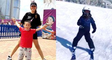 滑雪神童無誤!5歲Jasper「陡坡+S型彎道」零失誤「應采兒」看傻!