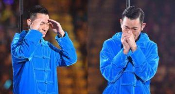 唱到一半「失聲」!「劉德華」哭著道歉:醫生說不能再唱了… 演唱會被迫終止