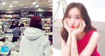 書店逛一半…「旁邊站潤娥」!全身照流出 「身材不科學」網友超驚訝!