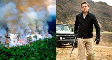 地球之肺狂燒沒人報!李奧納多豪捐「1.6億救雨林」 IG滿版災難畫面聲援亞馬遜!
