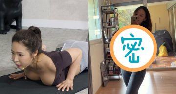 F級韓瑜珈老師狂甩肉 「產後2星期對比照」嚇歪網友:上圍都沒縮水!