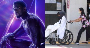 「黑豹」縮水暴瘦整個人小一號  外媒直擊坐輪椅送急診