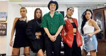 李孝利與嚴正化、Jessi、華莎組成強勢姊姊女團 劉在錫頂豬哥亮頭成公司代表