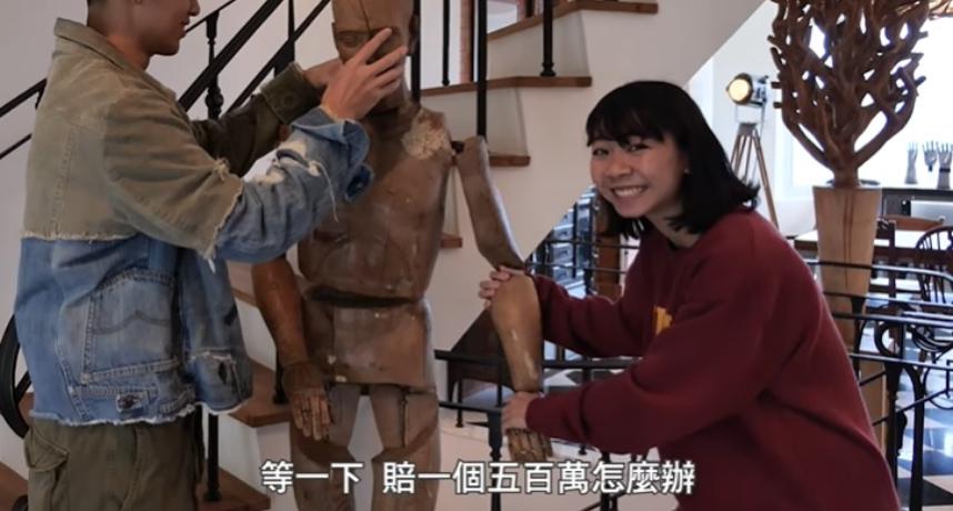 合作「小宅實驗」!柯震東藝術品堆滿豪宅 她問:一個賠500萬怎麼辦