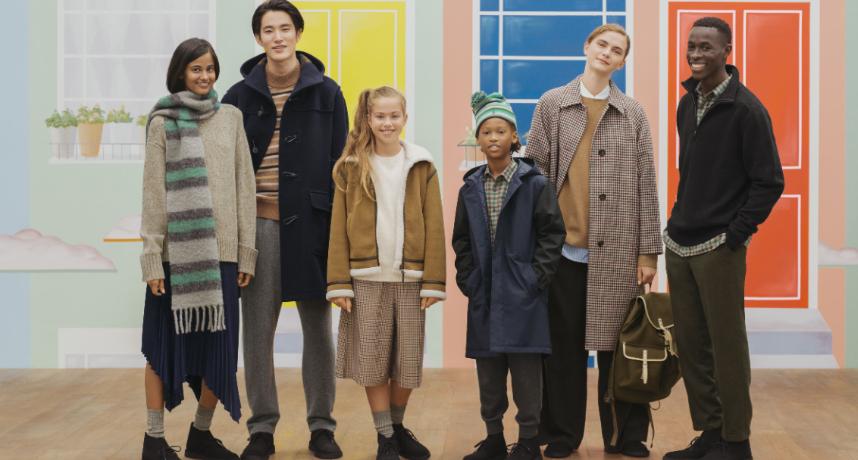 UNIQLO 秋冬聯名款上市 「復古英倫X不對稱剪裁」超時尚!