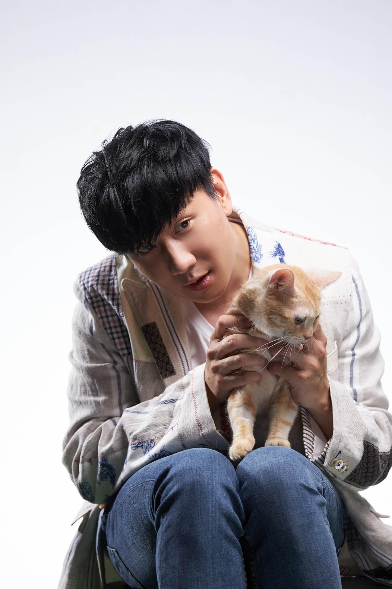 林俊傑「與貓對戲成貓奴」 現場融化:要多相處一點!