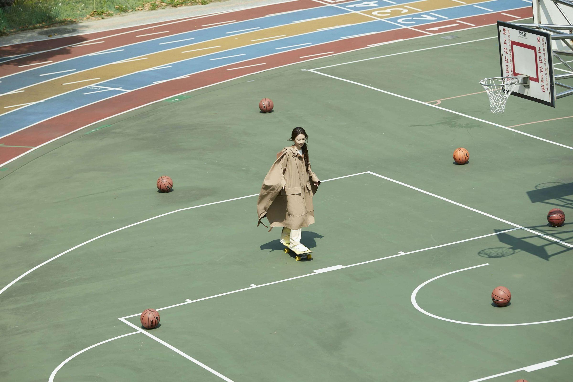 田馥甄「重拾滑板妹」西門町開滑:現在惜肉如金很怕跌!