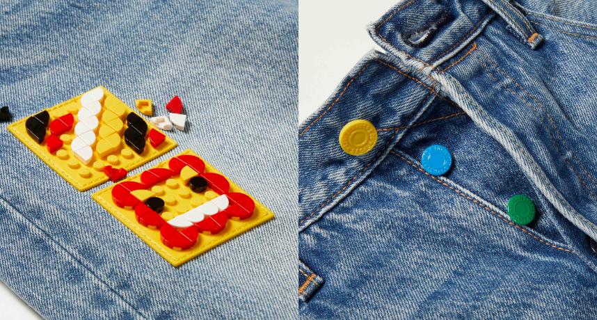LEVI'S® x LEGO超狂聯名登場 丹寧尬積木撞出新火花!