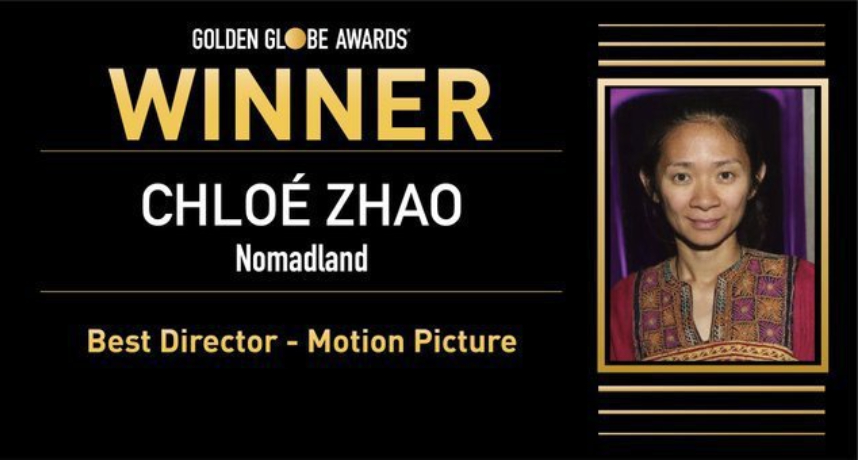趙婷《游牧人生》創下紀錄!史上首位獲得「金球獎」最佳導演獎的華裔女性