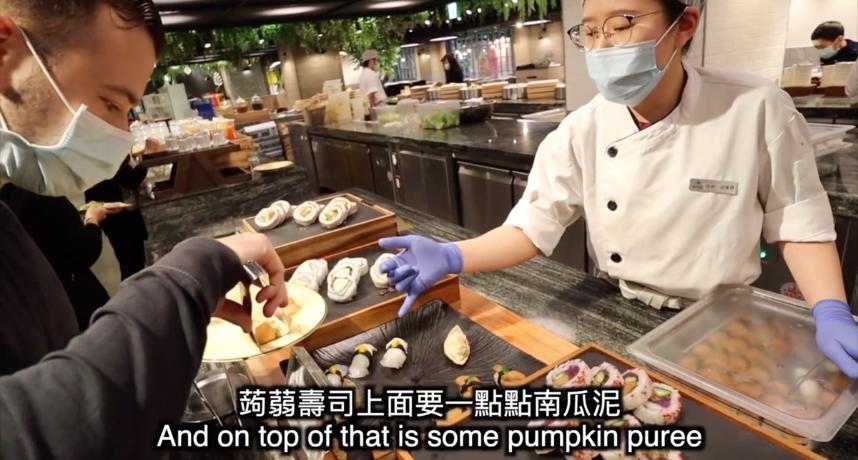 台灣VS美國!莫彩曦比較兩國吃到飽 大讚:素食者的美食天堂