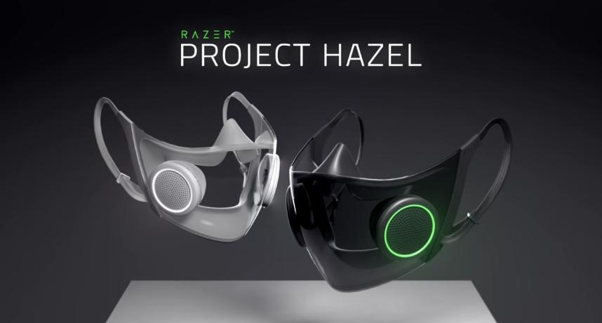 會發光還能擴音!Razer獨推「智慧型口罩」曝:符合N95規格