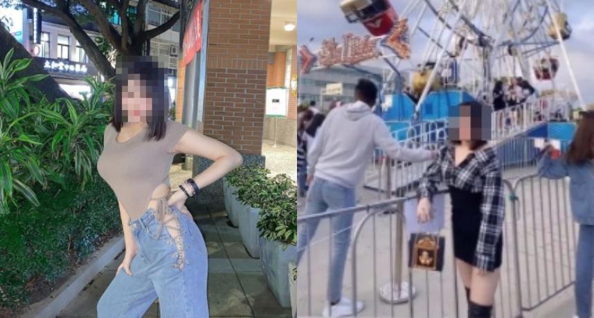 沒看到老娘在拍照?她誤穿鏡遭公審 網美急澄清:開玩笑的
