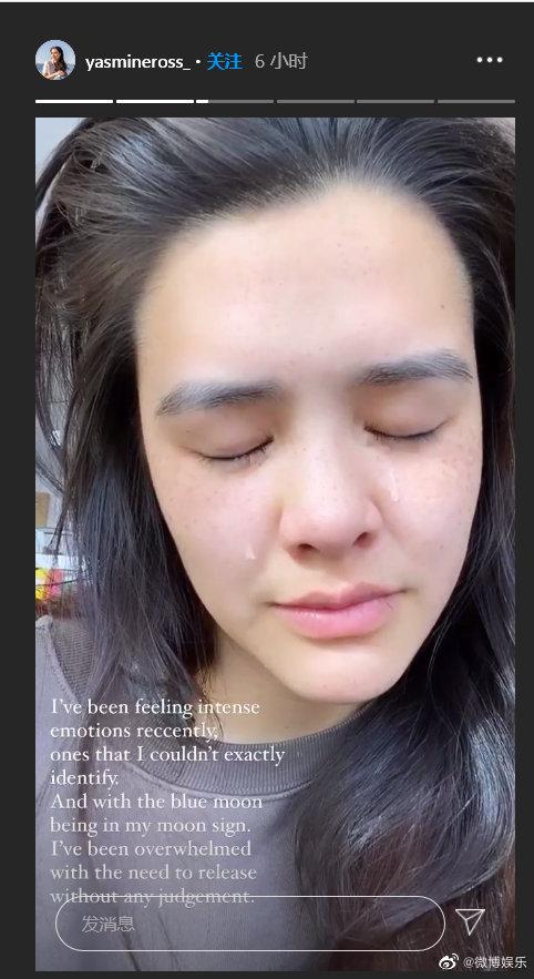 突PO崩潰影片!鍾麗緹女兒「跪地抱頭痛哭」 網瘋猜:失戀?