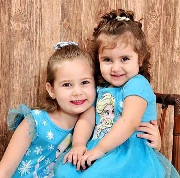 為吹生日蠟燭大打出手!3歲妹妹「狂扯姐姐頭髮」爆紅 IG開通了