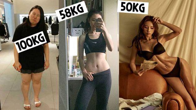 2年瘦了50公斤!韓YouTuber「舊照曝光」:胖到被男友分手