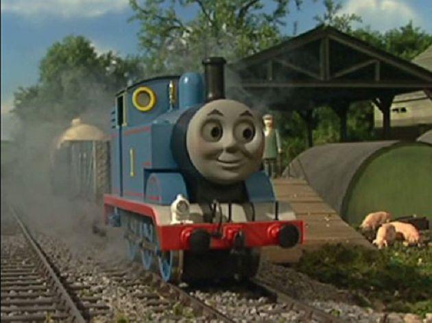 《湯瑪士小火車》真人版來了!「陰森笑臉」網嗨:童年惡夢成真