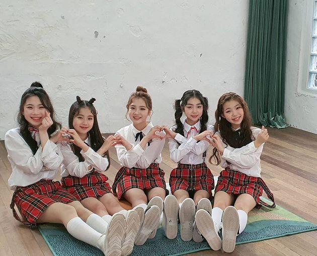 平均才13歲!韓新出道5人女團「MV曝光」進軍歌壇