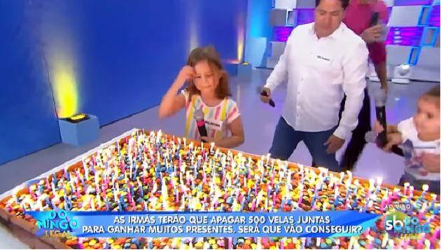 吹蠟燭爆紅!姊妹倆上節目「吹500根蠟燭」 僅花21秒達標