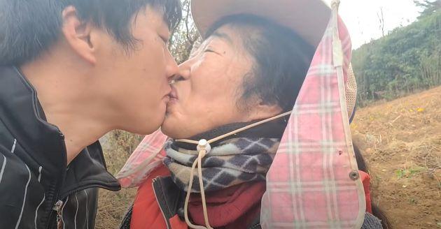 阿姨我不想努力了!「35歲嬤孫戀」男方接吻反應曝光 網:是造假