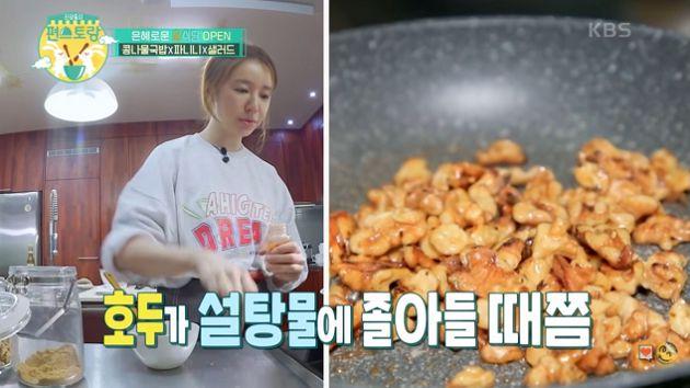 小時候太窮!尹恩惠「展現驚人廚藝」:不想一星期都吃一樣的