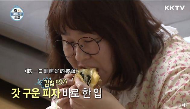 減肥必吃?金珉京「飯捲熱狗捲雞蛋披薩」食譜曝光:超簡單