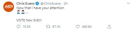 「杏鮑菇」照瘋傳!美國隊長沉默3天出面回應:引起你注意了!