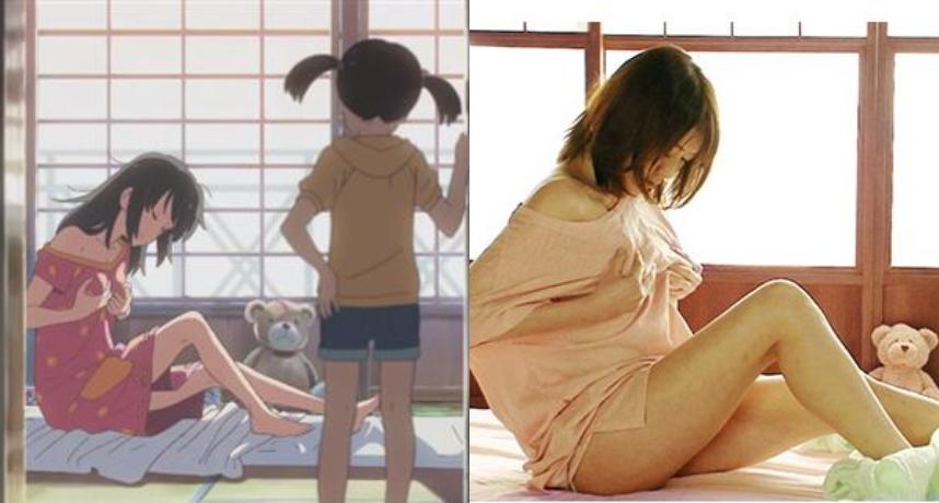 日本動畫《你的名字》2017年時簡直夯遍了全亞洲,更被大家譽為近年來少見的「神作」等級動畫。  當然啦,AV片商們當然不會放過這樣的機會,硬是把劇名改成了有點猥褻(?的「你的繩子」,也引起了大批粉絲暴動。  此片找來了有「地表最強E奶」封號的女優「涼川絢音」演出女主三葉,且劇組也非常用心的還原佈景,連男主變成女兒身後好奇「自摸」的片段也收錄進去了,可謂是誠意滿滿啊!