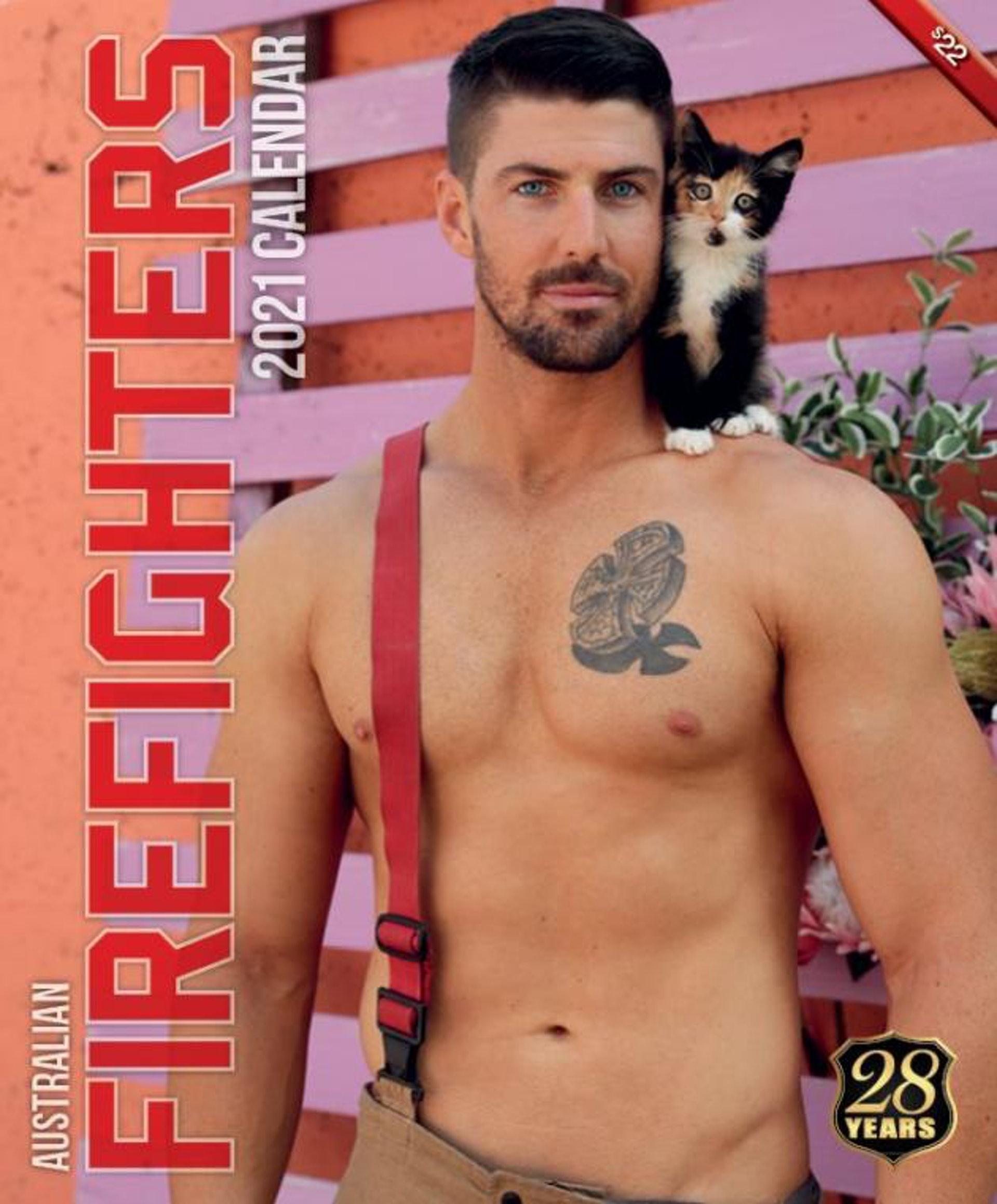 圖片來源/Australian Firefighters Calendar FB