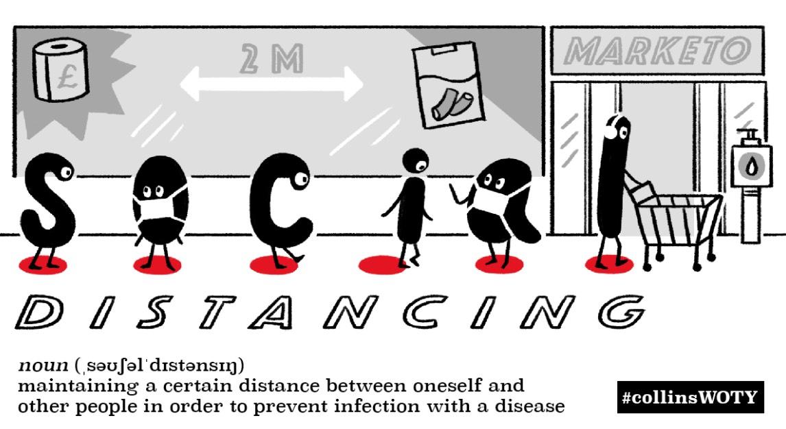 Social-distancing 社交距離