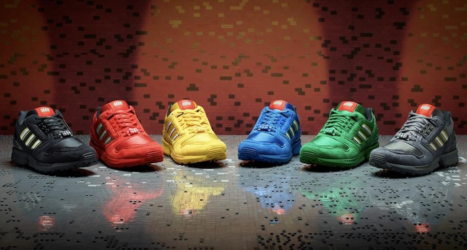 adidas Originals X LEGO 童趣原創聯名第二波,樂高聯名款ZX8000 全新六色鞋款上市!