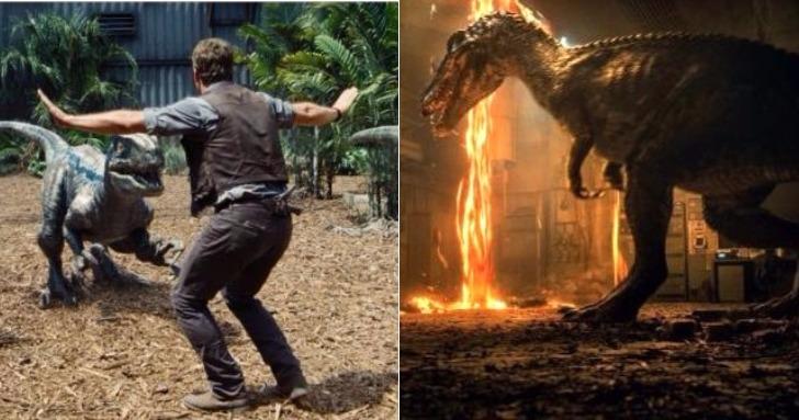 終於是正式預告!《侏羅紀世界:隕落國度》克里斯·普瑞特為拯救小藍 再度開啟冒險!
