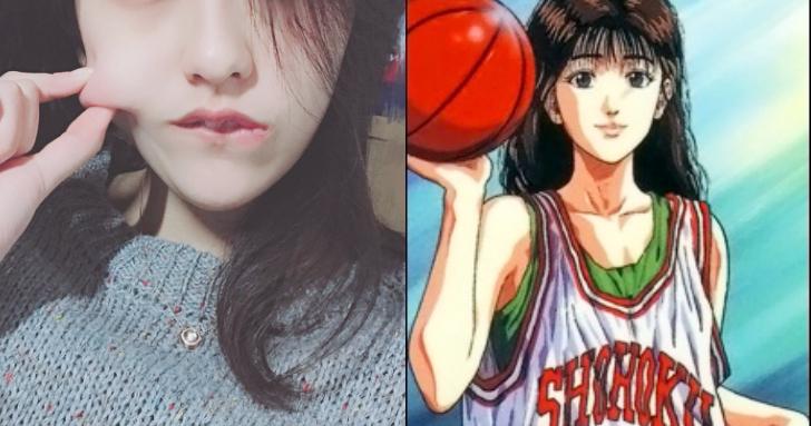 真人版赤木晴子!學霸女神氣質出眾 驚天顏值獲封「最美籃球女裁判」!