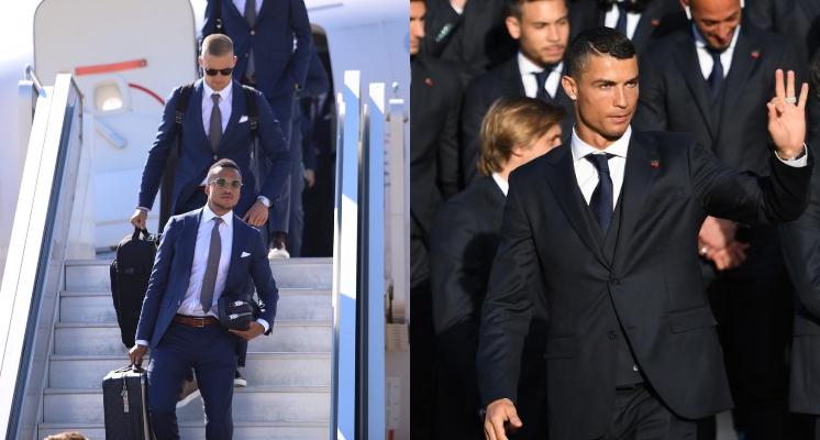 是要比踢球還是比顏值!世界盃球賽即將開打 各國球員的「機場時尚」堪比模特兒大賽
