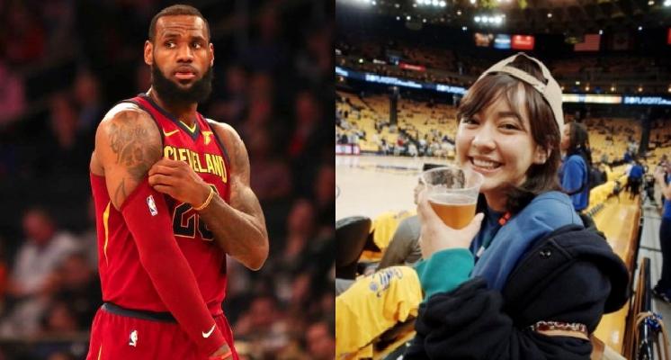 甜美女星「陳意涵」公開PO文嘲「LeBron打到快往生」意外惹怒球迷:連個道歉都沒有,噁不噁心