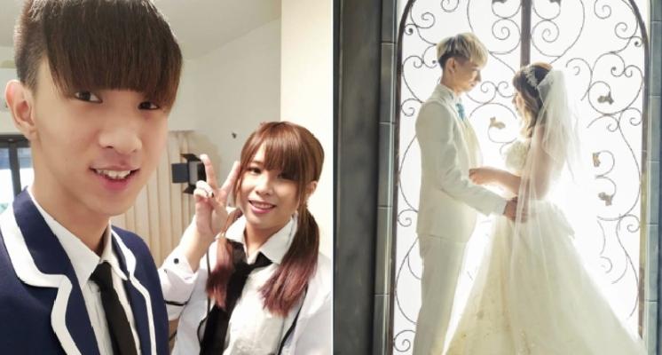 想婚了?爭議網紅「小玉」、「笑笑」婚紗照透明全公開!浪漫摟腰對視甜出蜜