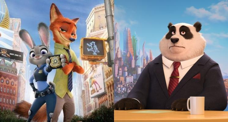 魔鬼細節有套路!這些「動畫電影」一跨國界就改版?《動物方城市》主播從「麋鹿」變成了「熊貓」!