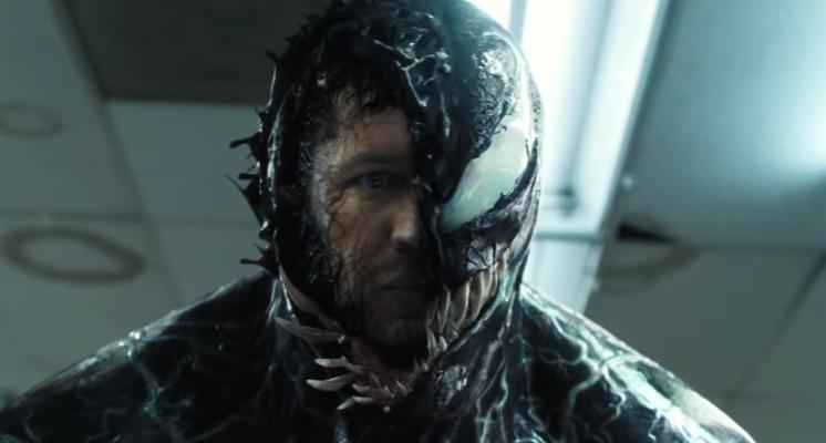 《猛毒》全新預告驚悚登場,湯姆哈迪與猛毒共生變身畫面再公開!