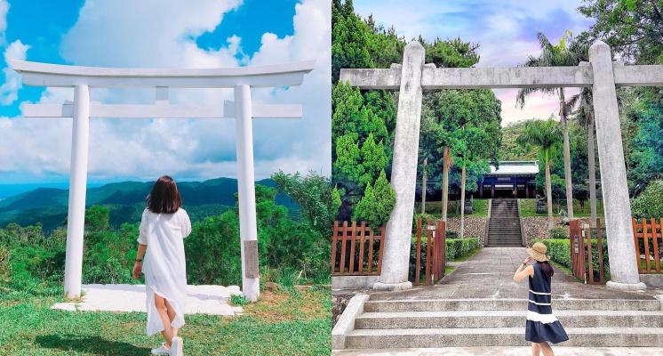 誰說鳥居一定要去日本拍?熱搜全台超美的日本鳥居!純白色鳥居美到以為自己去日本~